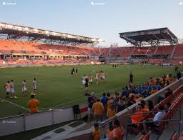 Bbva Compass Stadium Houston Seating Chart Bbva Compass Stadium Section 110 Seat Views Seatgeek