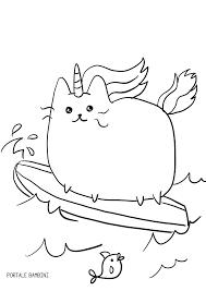 Disegno Di Unicorno Cucciolo Da Colorare Disegni Da Motivational