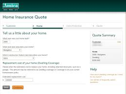amica car insurance quote stunning