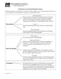 structure of a general expository essay th th grade worksheet  structure of a general expository essay worksheet