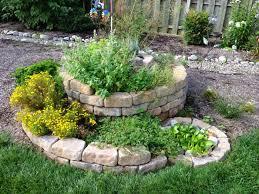 Small Picture How to Build a Spiral Herb Garden Spiral Garden Design Plants