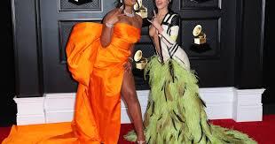 Grammys <b>2021 fashion</b>: Noah Cyrus, Doja <b>Cat</b> make a big impact ...