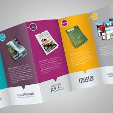 3 column brochure beautiful deca fold brochure design 3 20 simple yet beautiful