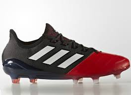 adidas ace 17 1 leather firm ground boots core black footwear white red