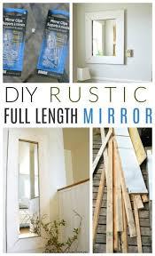 update a boring full length mirror