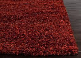 modern design rugs red