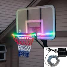 Basketball Hoop Led Light Details About For Night Games And Confrontation Creative Solar Basketball Hoop Led Color Lamp