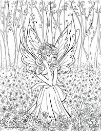 fairy color pages printable coloring pages fairy tale slavic info