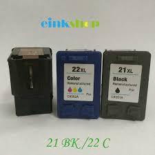 <b>Einkshop Compatible for HP</b> 21 22 21XL 22XL ink cartridge For hp ...