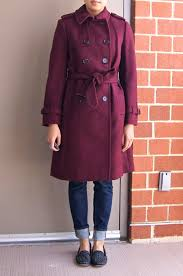 and slimming a coat is not the a line shape is even more ounced when i tie the belt tight but here it is with and without the belt tied