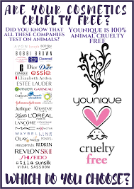 are yours cosmetics tested on s younique is 100 free