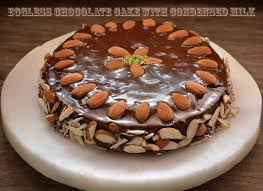 Eggless Cake Recipe Eggless Cake With Condensed Milk