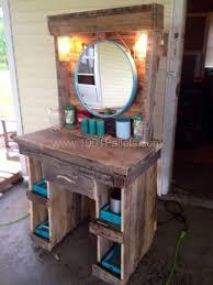 diy makeup vanity table. Rustic Makeup Vanity Diy Table O