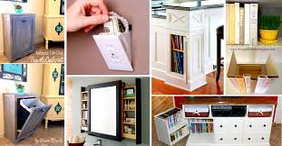 41 Mind Blowing Hidden Storage Ideas Making a Clever Use of Your Household  Space!  Cute DIY Projects