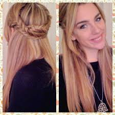 Hair Tutorial Semiraccolto Con Treccia A Spina Di Pesce Youtube