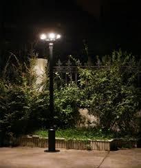outdoor landscape lighting solar garden lamp casting aluminum solar yard lights
