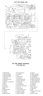 harley diagrams and manuals 1998 harley davidson softail wiring diagram wiring diagram xlh (1979 1980)
