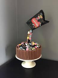Liquorice Allsorts Cake Designs Anti Gravity Liqourice Allsort Cake Adult Birthday Cakes