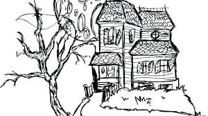 Cartoon House Coloring Pages Free Pictures Dpalaw