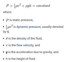 total pressure equation. the total pressure consists of three components: equation o