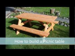 how to build a picnic table a step by step guide