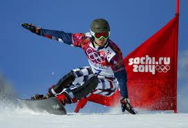 История и виды лыжного спорта доклад для урока физкультуры в классе Горнолыжник на спуске