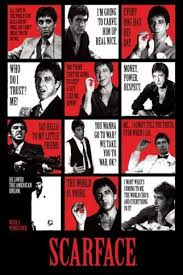 Scarface Quotes Impressive Amazon ScarfaceQuotes Poster Prints Posters Prints