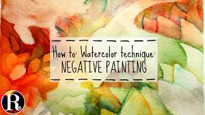 how to watercolor technique negative painting the good dinosaur s ii sdpainting ii watercolor you
