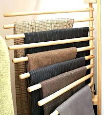 pants rack closet wall mounted trouser rack trouser organization in a closet wall mounted trouser rack