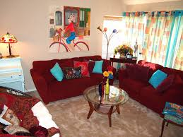 Yellow Living Room Decor Red Teal Yellow Living Room Living Room Design Ideas