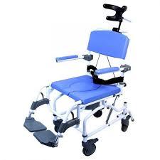 15 tilt pediatric aluminum rolling shower commode chair