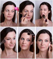 how to apply face makeup step by step with pictures. how to apply blush face makeup step by with pictures s