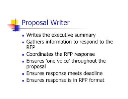 Proposal Writer Job Description Workable So You Want To Be A ...