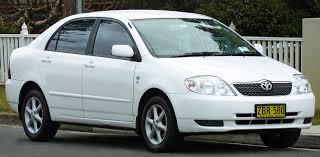Toyota Corolla (E120) - Wikiwand