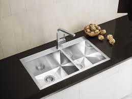 Water Creation DropIn Zero Radius Stainless Steel 33 In 1Hole Home Depot Kitchen Sinks Top Mount