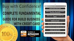 Amazoncom Best Way To Build Your Business Credit Card Fast Guide