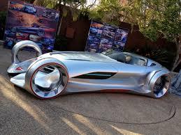 The Mercedes-Benz Silver Lightning Concept.