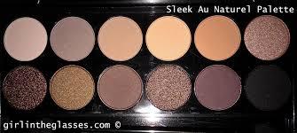 rating system poor okay average good excellent brand sleek makeup name i divine au naturel palette 601
