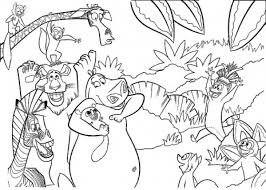 Small Picture 62 Jungle Book Coloring Pages Printable Jungle Animals Coloring