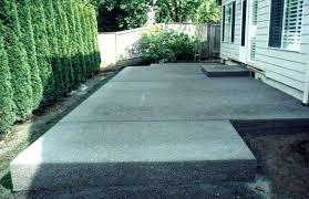backyard concrete slab ideas surprising painting concrete patio slab image detail for patios designs patio slabs