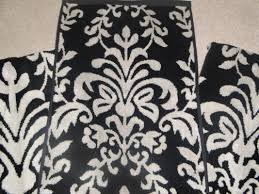 Black Bathroom Accessories Bathroom Accessories Decoration Using Patterned Black And White