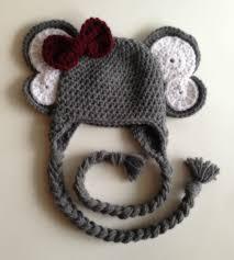 Crochet Elephant Hat Pattern Free