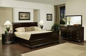 Plaid Bedroom King Size Bed Sheet Set Grey Wooden Bench Blue Plaid Pattern