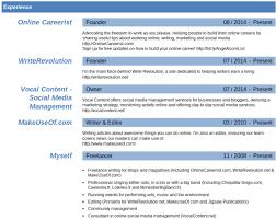 Resume Template Linkedin
