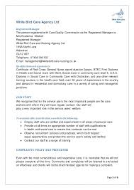 Health Care Assistant Personal Statement Sample Sample Healthcare Professional Care Worker Personal