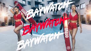 baywatch hair and makeup tutorial mia randria