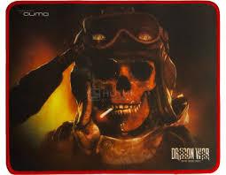 Коврик для мыши игровой Qumo Deadly Salute, 280x230 ... - Нотик