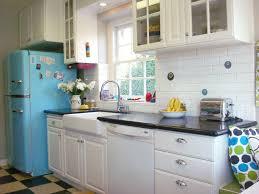 Other Kitchen Retro Kitchen Ideas Black And White Floor Fresh
