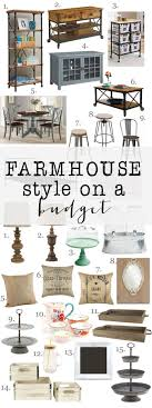 Farmhouse Style on a budget: Amazing farmhouse furniture and decor at  incredible prices. Decorating