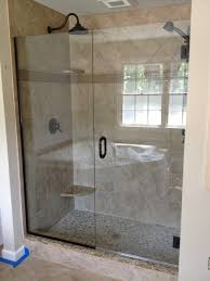 return panels and half walls these shower enclosures feature return panels to